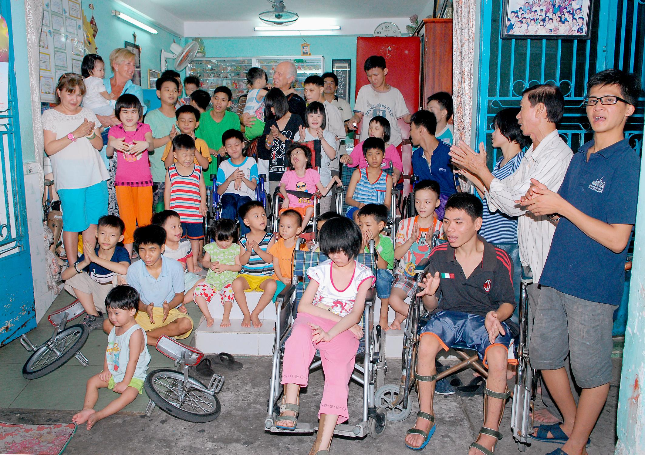 Vietnamese weeskinderen